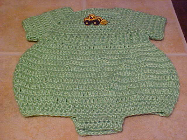 Free Crochet Pattern For Baby Romper : Newborn Romper Free Crochet Patterns